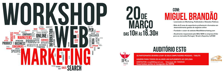 Workshop de webmarketing
