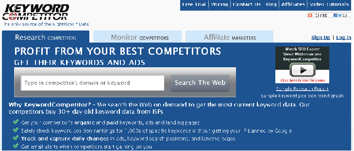 keyword-competitor